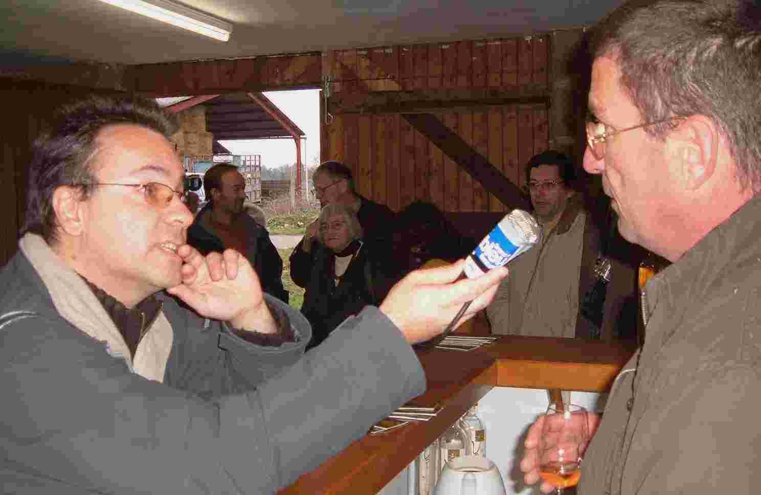 reportage Vin paillé